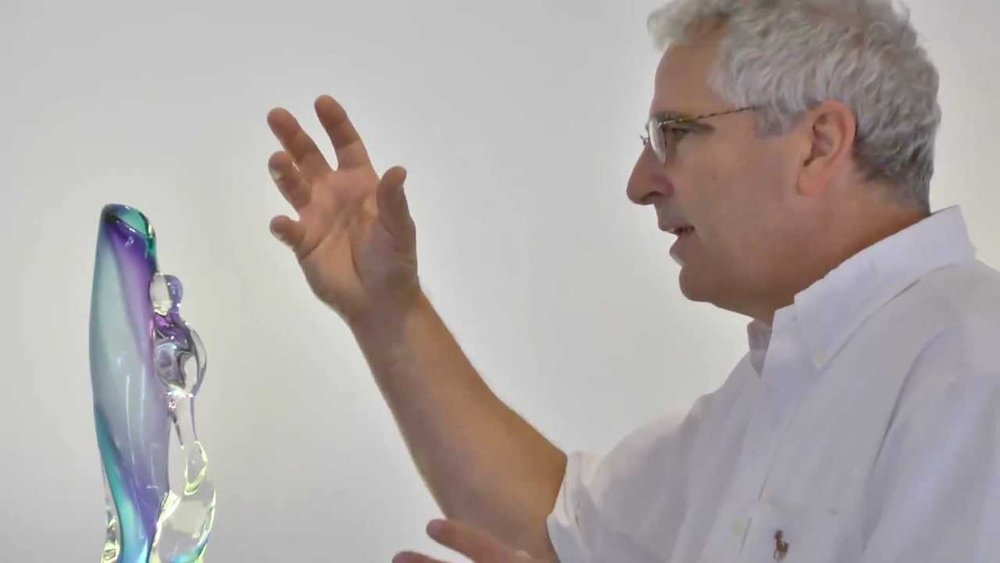 Glass artist Paulo Dufour at a previous ARTiculate Artist Talk