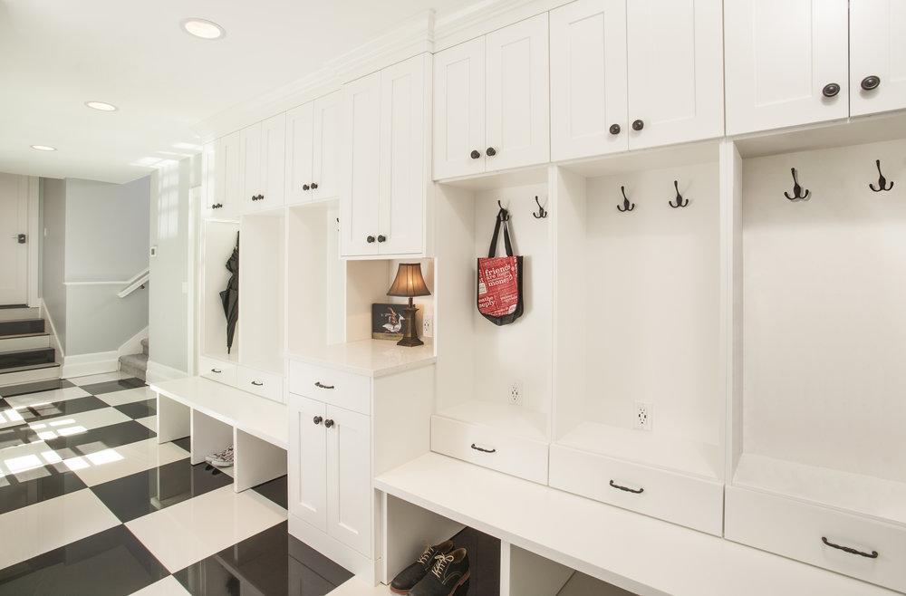 Laundry, Pantry, Closet