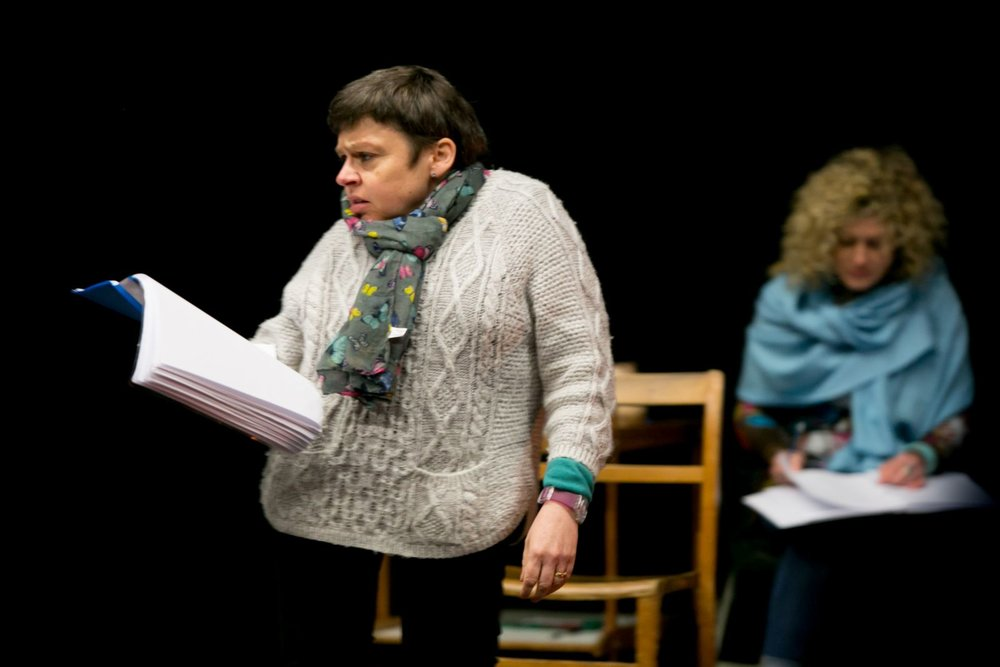 Production: rehearsals for  Cosy