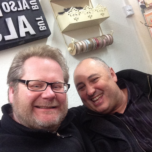 My good friend Chris Kapnisis from Revive and My Gift Box, Buckhurst Hill