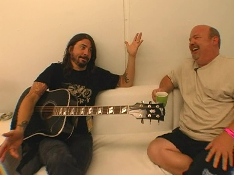 Dave Grohl Foo Fighters and Kyle Gass of Tenacious D