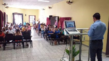 Seminar at the Evangélica de Santidad Church