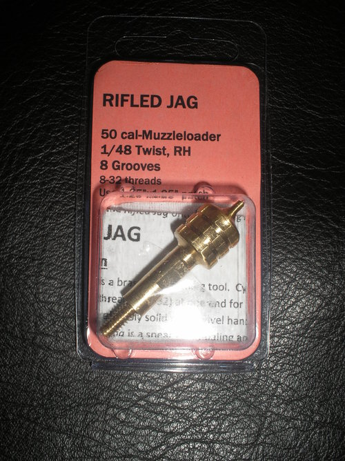 50 Cal Muzzleloader, 1/48 twist, 8 grooves, 8-32 threads, RH
