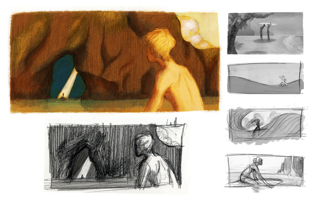Hawaiian Surfer Studies