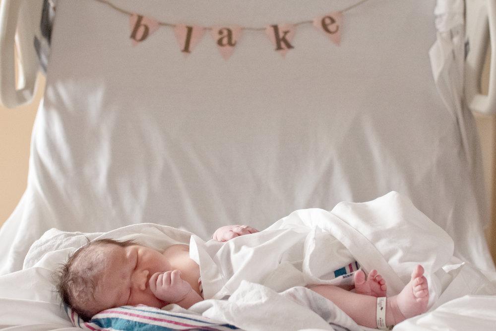 south bend newborn hospital photographer