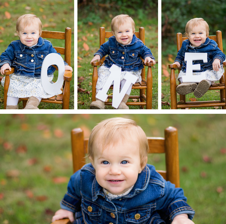 One Year Girl Photo Session, Southwest Michigan