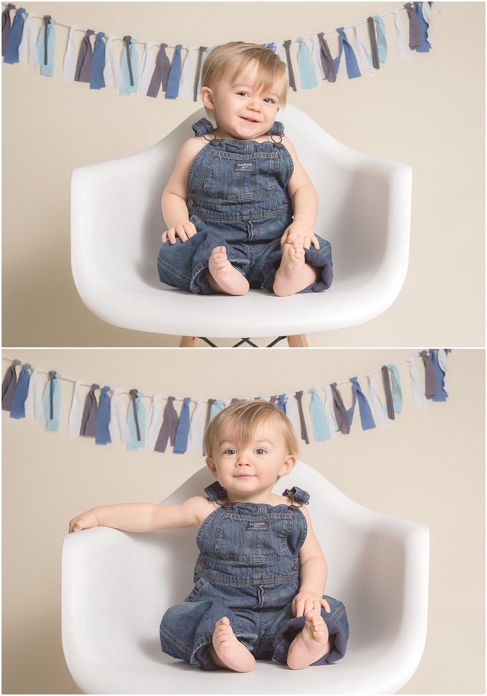 The classic look of #oshgoshbigosh overalls are one of my favorites for little guys!