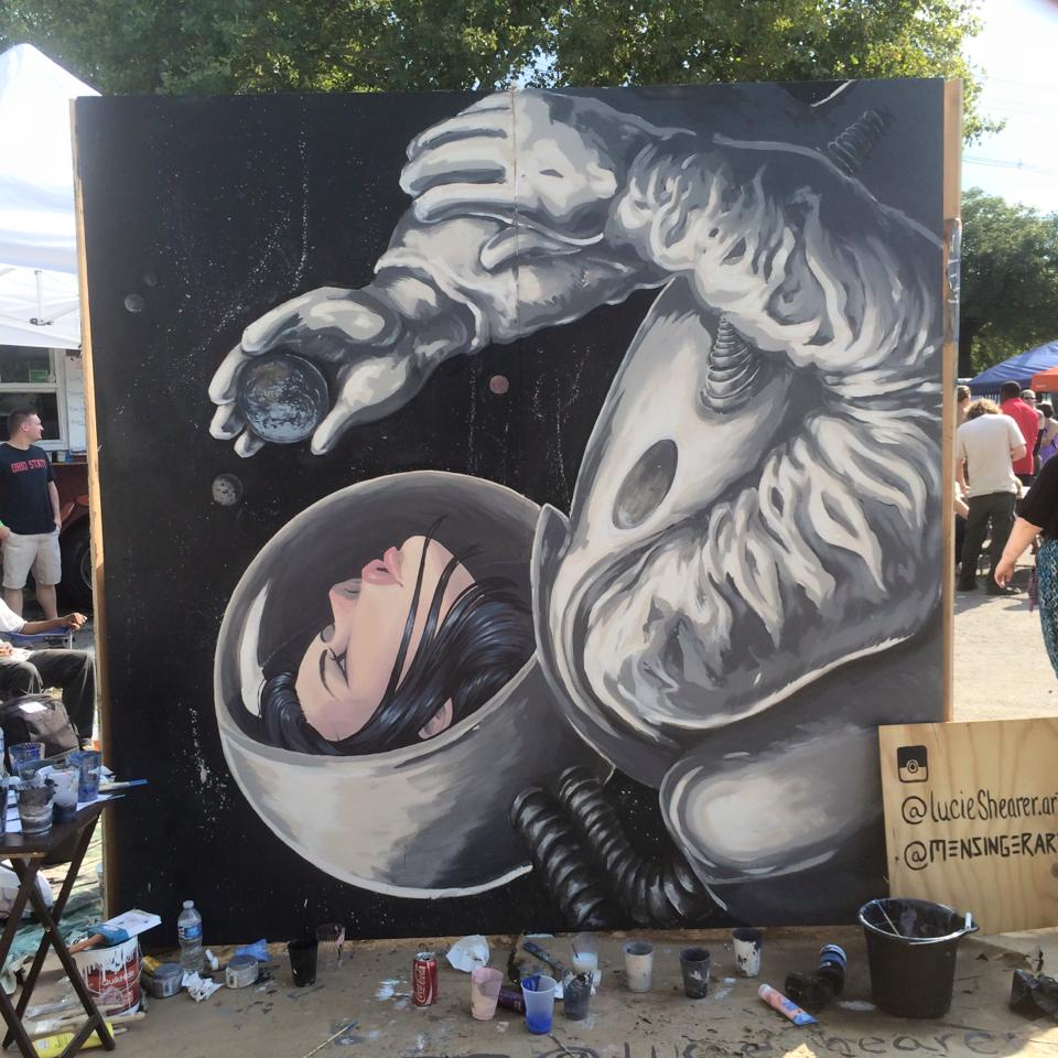 """Astronaut"" At Urban Scrawl"