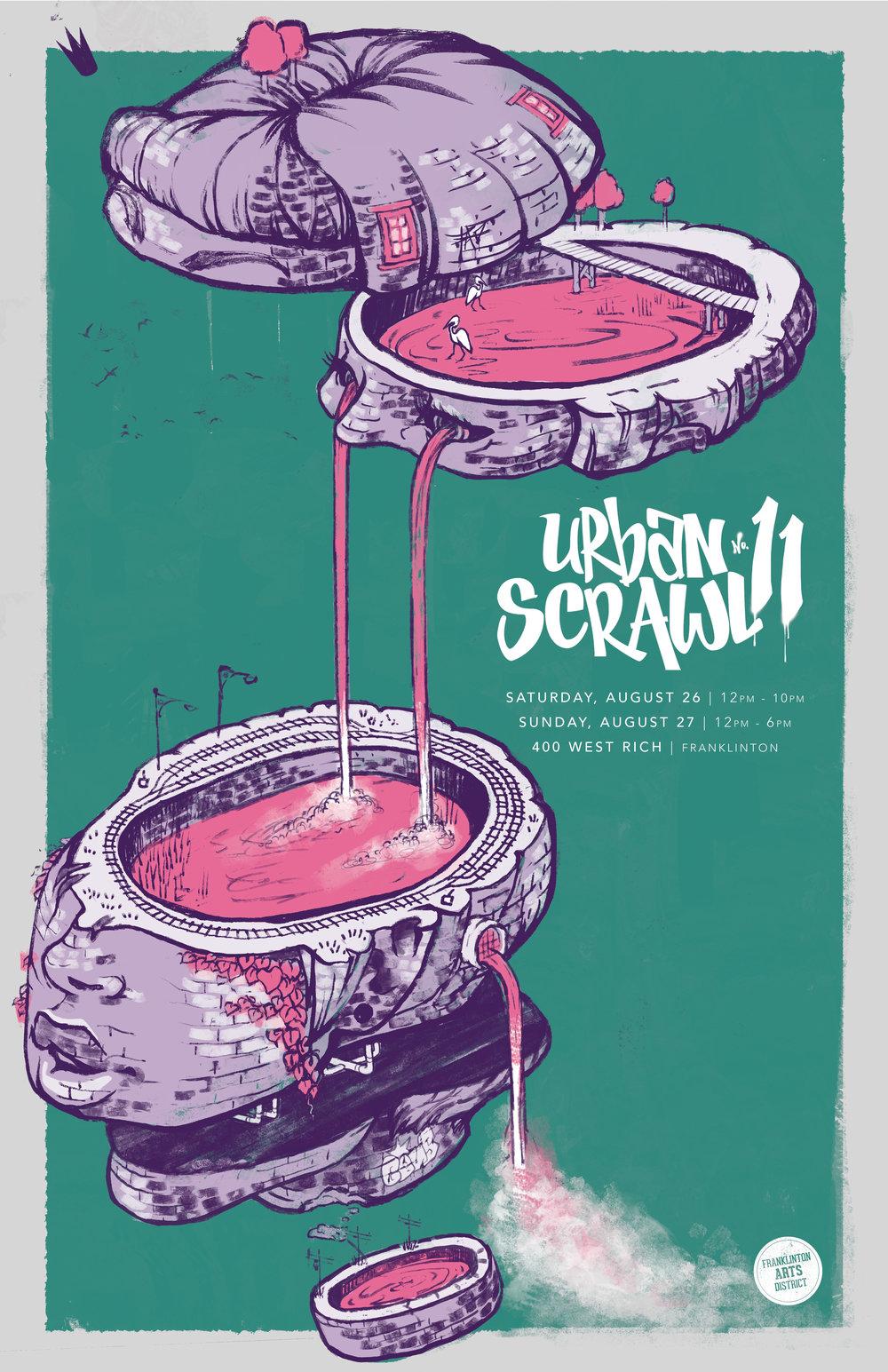 Urban Scrawl 11 Poster