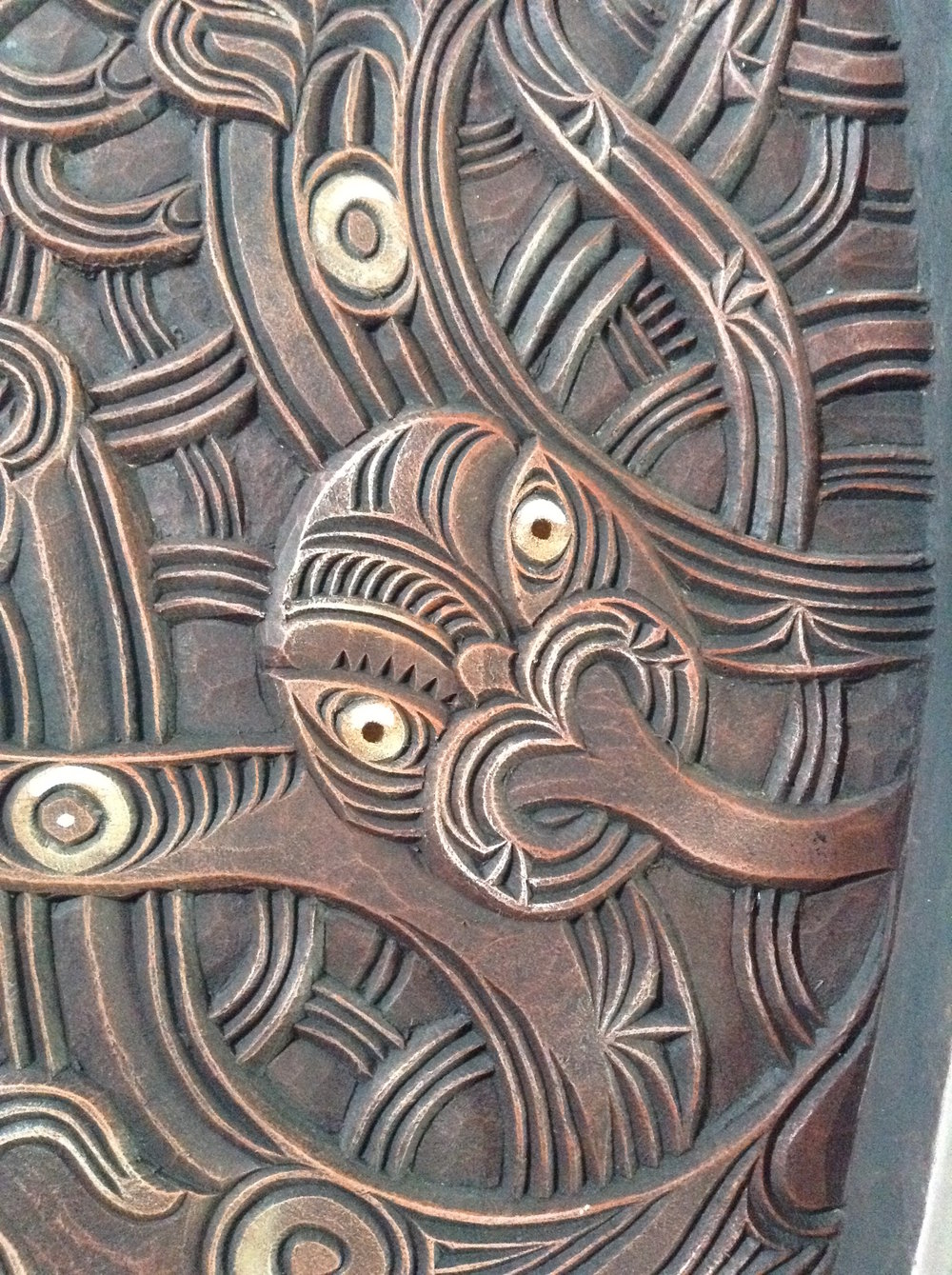 Detail of the work.