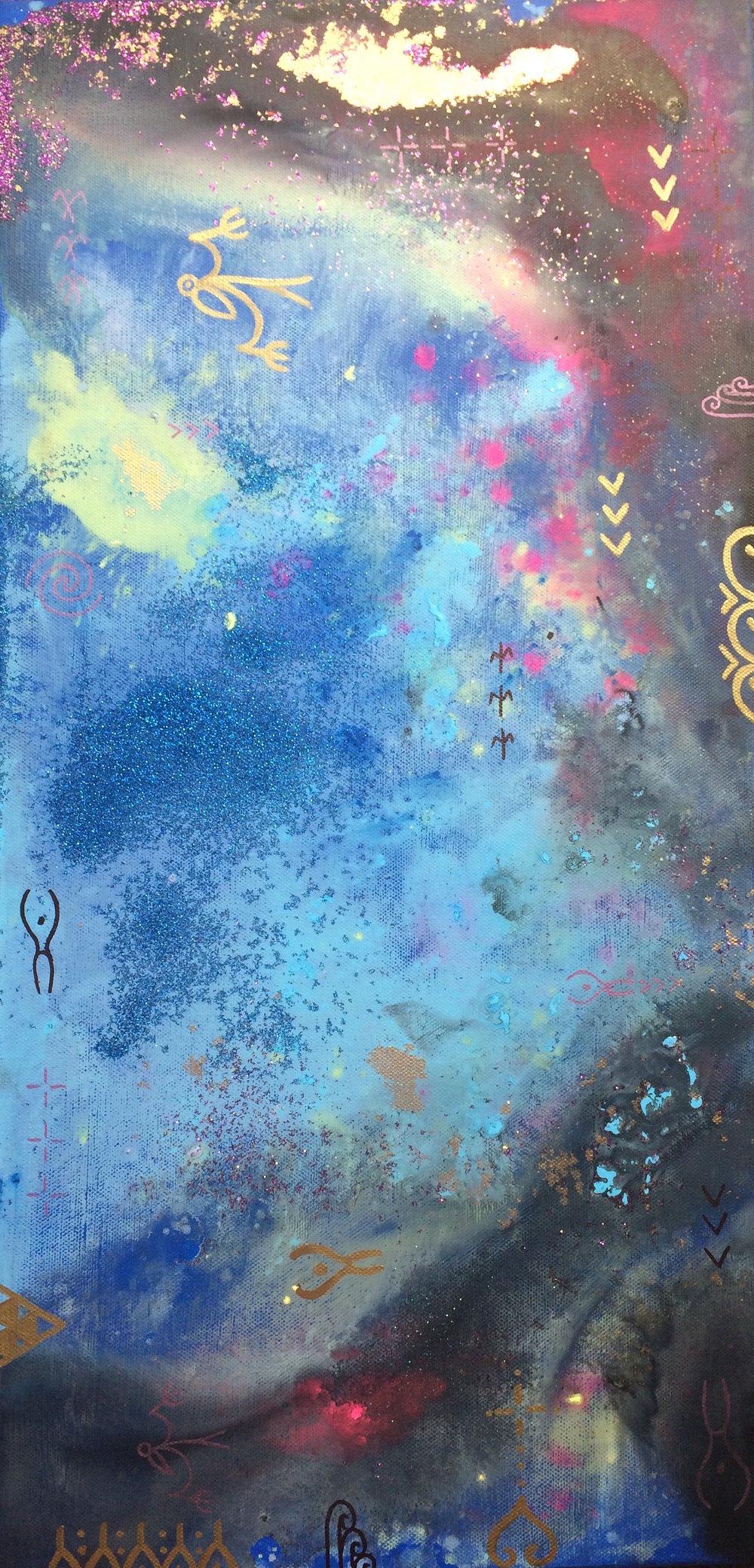 'Divine Origins VII' by Taryn Beri.