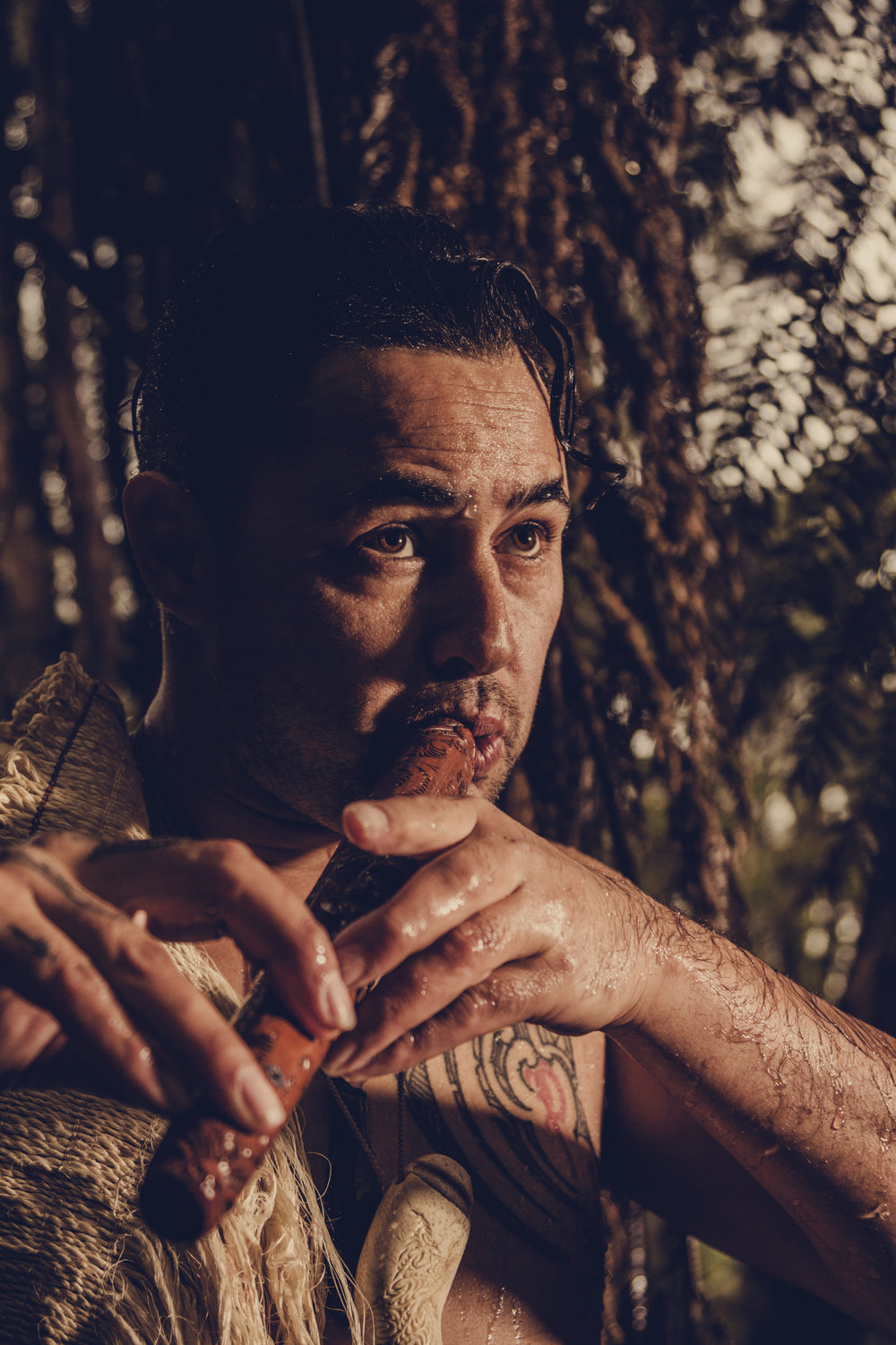 Be treated to an intimate live music performance by grammy award winning featured solo artist and taonga puoro (ancient Māori musical instrument) specialist,  Jerome Kavanagh .