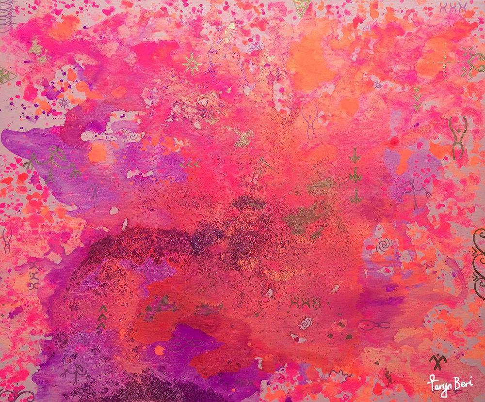 'Divine Origins II' by Taryn Beri.