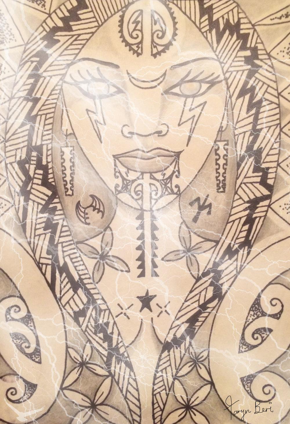 'Te Uira' by Taryn Beri.