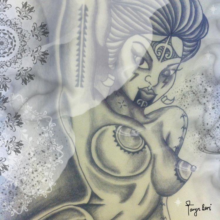 'Uha' by Taryn Beri.