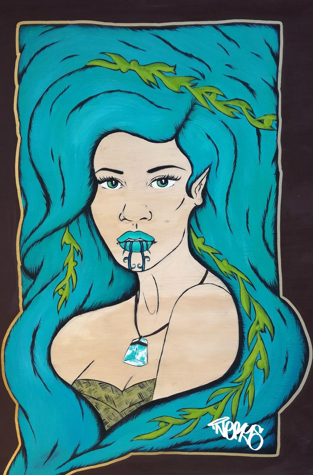 'Marakihau' by Nerys Baker.