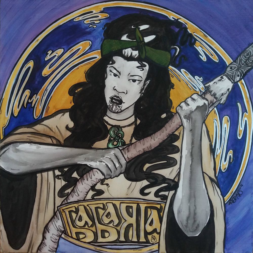 'Hine Baba Yaga'  by Nerys Baker.