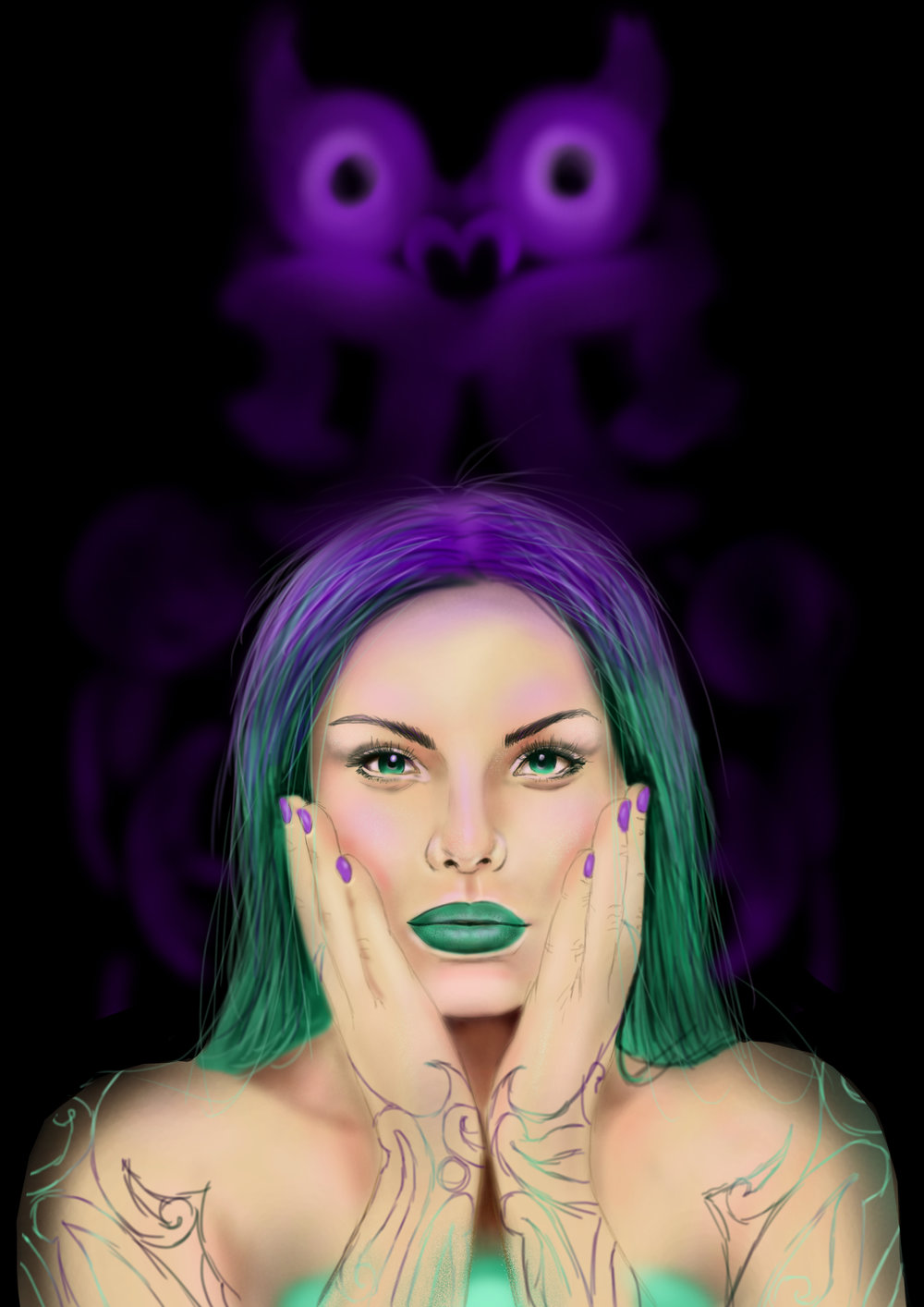 leon hohepa gren purple last print.jpg