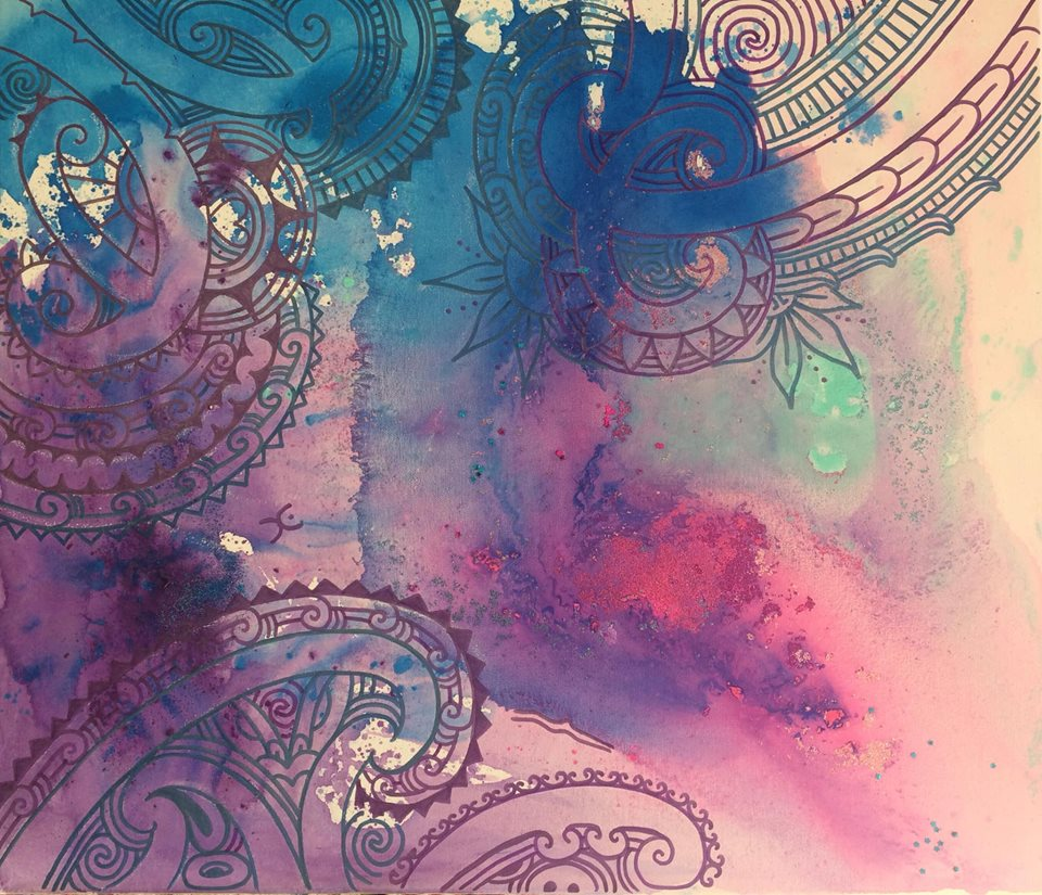 'The new descendants'  by Taryn Beri. Click   here   to learn more about this original artwork.