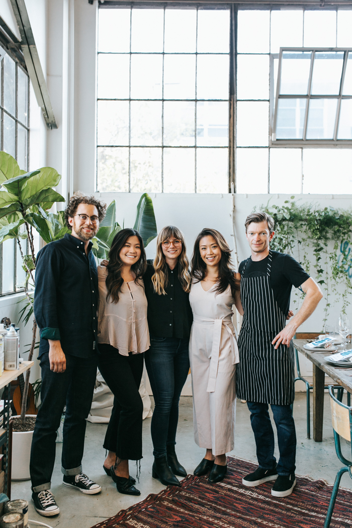 Will Haldean Brown, Lauren Midori Hsia, Heather Day, Michelle Wei, Ben Roche | Studio Table
