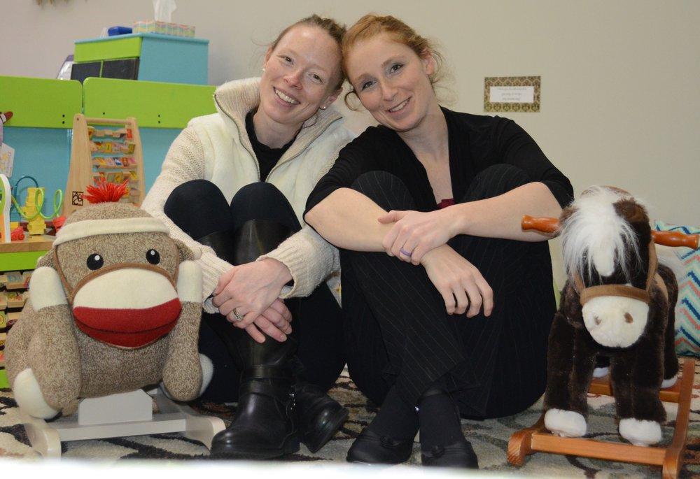 Sarah (L) and Hannah (R)