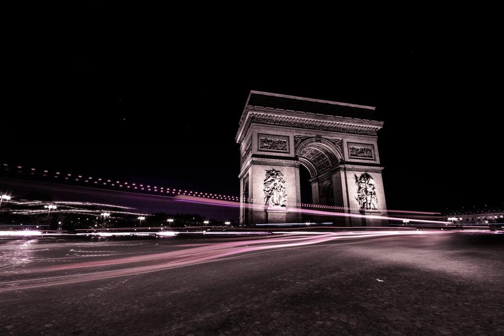 Arc de Triomphe from the Champs-Élysées