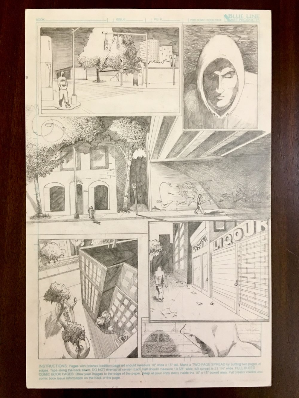 Original page 1 made shortly after graduation in 2002