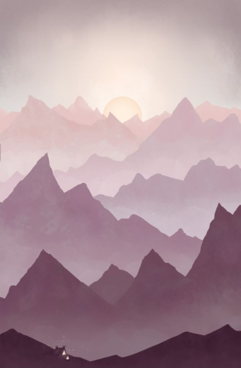 Print Wanderlust Mountains