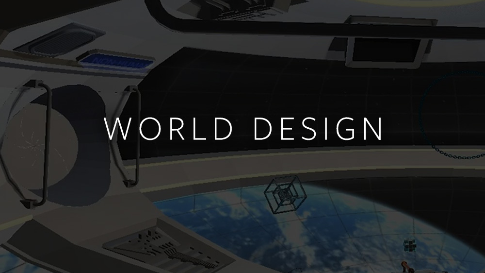 All the world's a stage. Learn how to architect a space, prototype new worlds, and bring your vision to life.