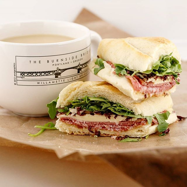Having a freshly made sandwich like #thebutcher paired with @mojacoffee is the best way to kick off a Monday. How is your morning going? ☕ . . Grab us for lunch on Skip the Dishes and Food.ee! . . . . #mondaymorning #mojacoffee #costarica #java #coffee #twotriangles #vancouver #vancityeats #vancouverfood #yvr #yvrfood #yvrtreats #food #yummy #foodporn #instafood #delicious #foodie #sandwich #sandwiches #foodgasm #foodpic #yum