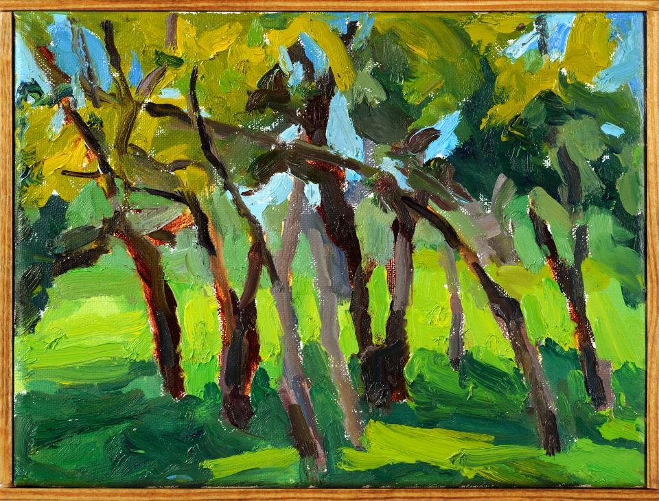 """Tree Grouping"" by Nancy Tart"