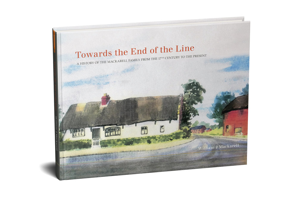 TOWARDS THE END OF THE LINE written by Bill Mackarell, edited by Bernadette Foley, designed by Liz Seymour, proofread by Carolyn Page, produced by Broadcast Books, 2017