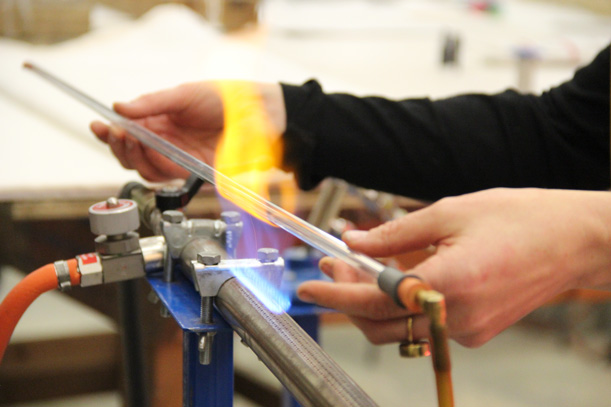 Bending Neon Glass