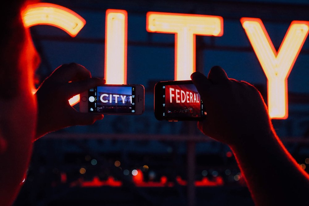 Neon Sign Photography