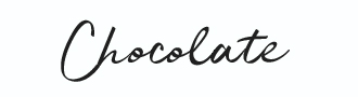 Chocolate Neon Sign Font