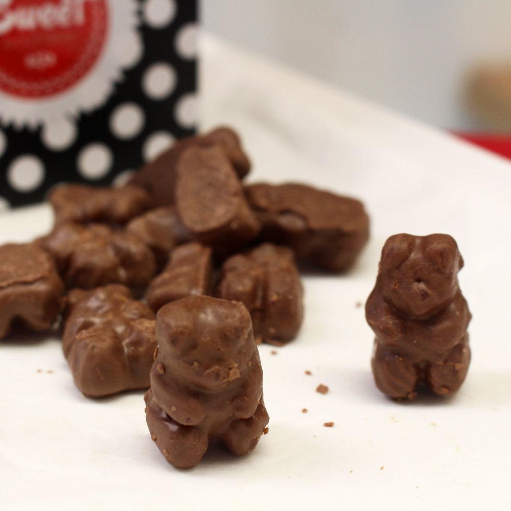 Chocolate Gummy Bears -