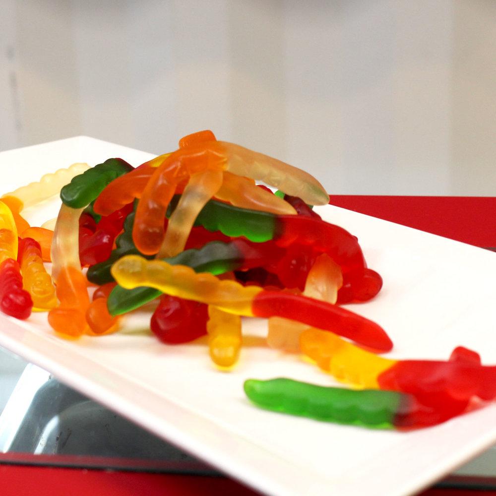 Gummy Worms -
