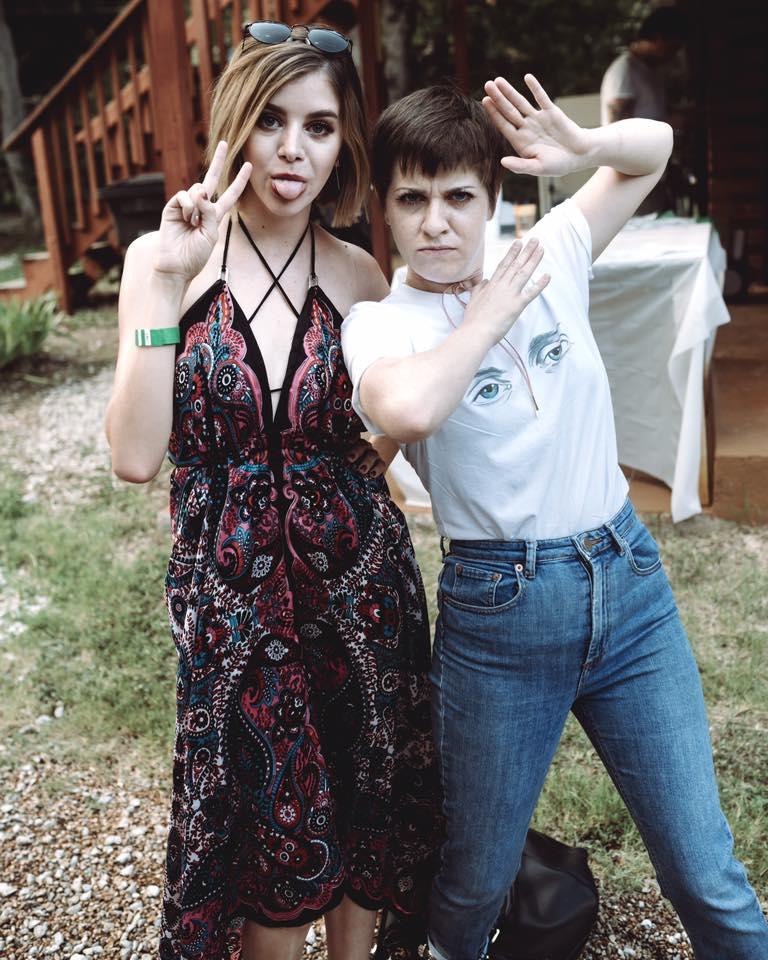 Sophia Ceballos and Dayna James | Hypnagogia || Shot by  Walt Burns Photography