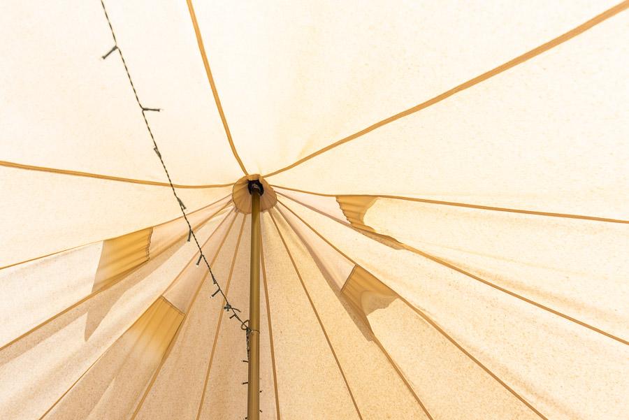 The Tent House - Gulaga: Interior.