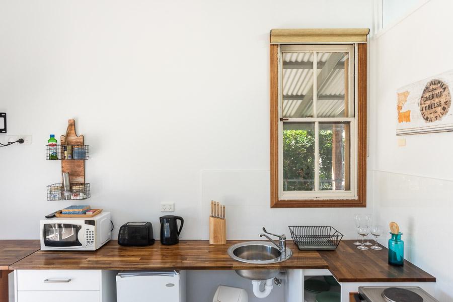 The Studio: Kitchen.