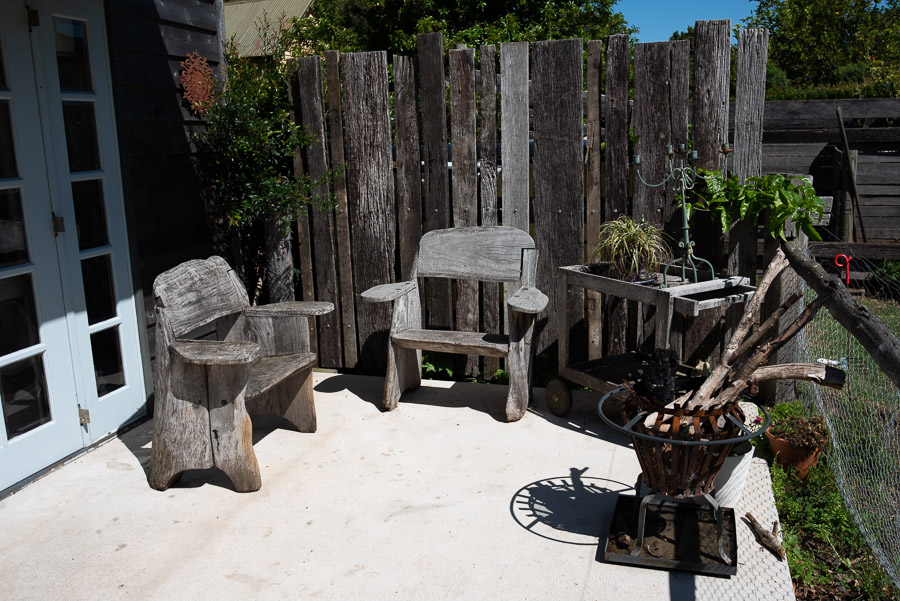 The Studio: Courtyard.