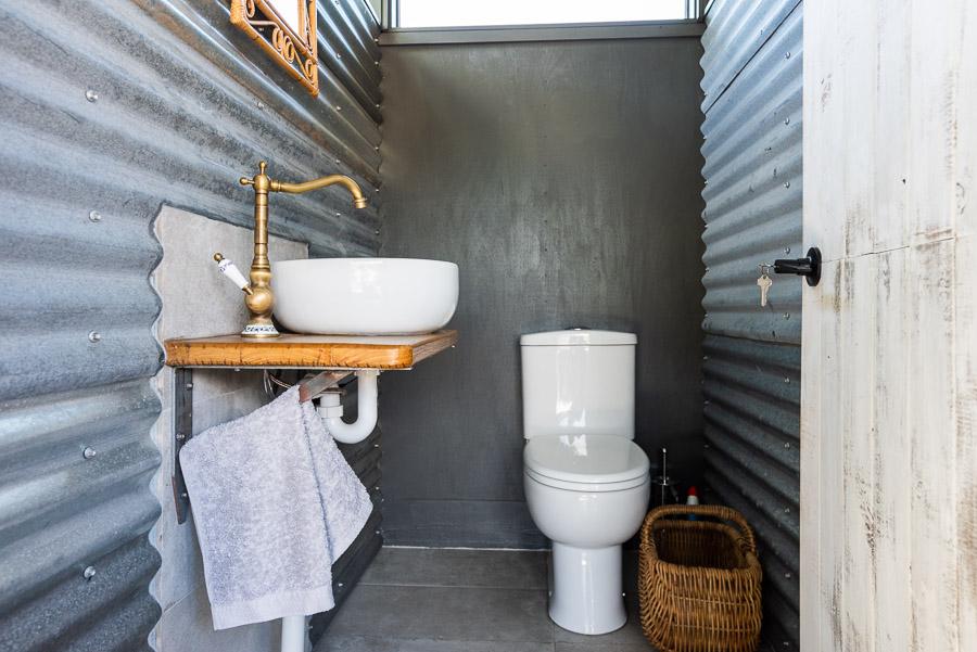 The Tent House - Gulaga: Shared amenities block toilet.
