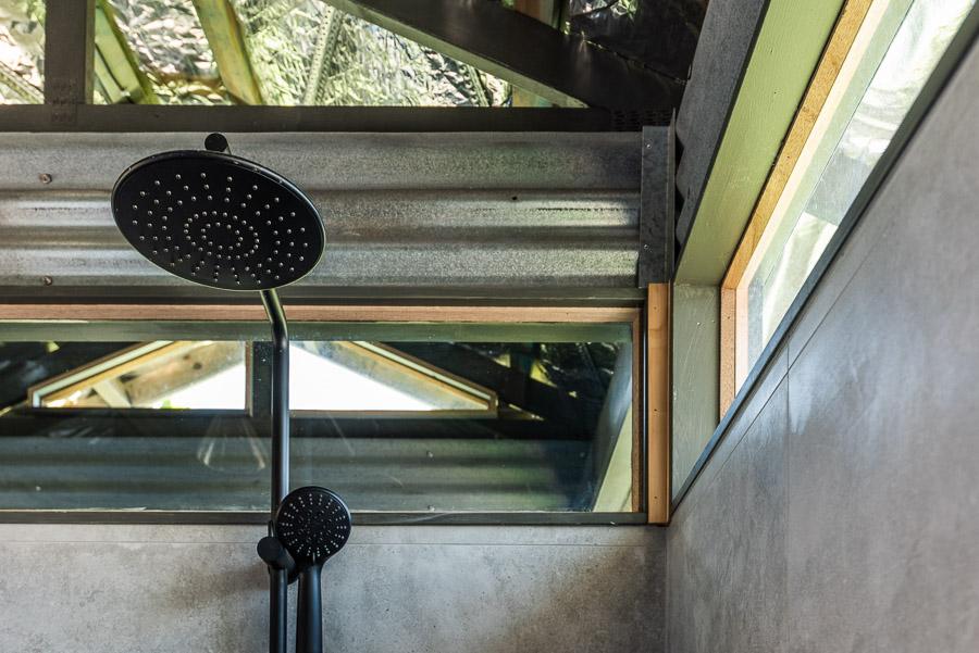 The Tent House - Gulaga: Shared amenities block shower.