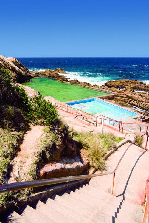 The Blue Pool - Bermagui