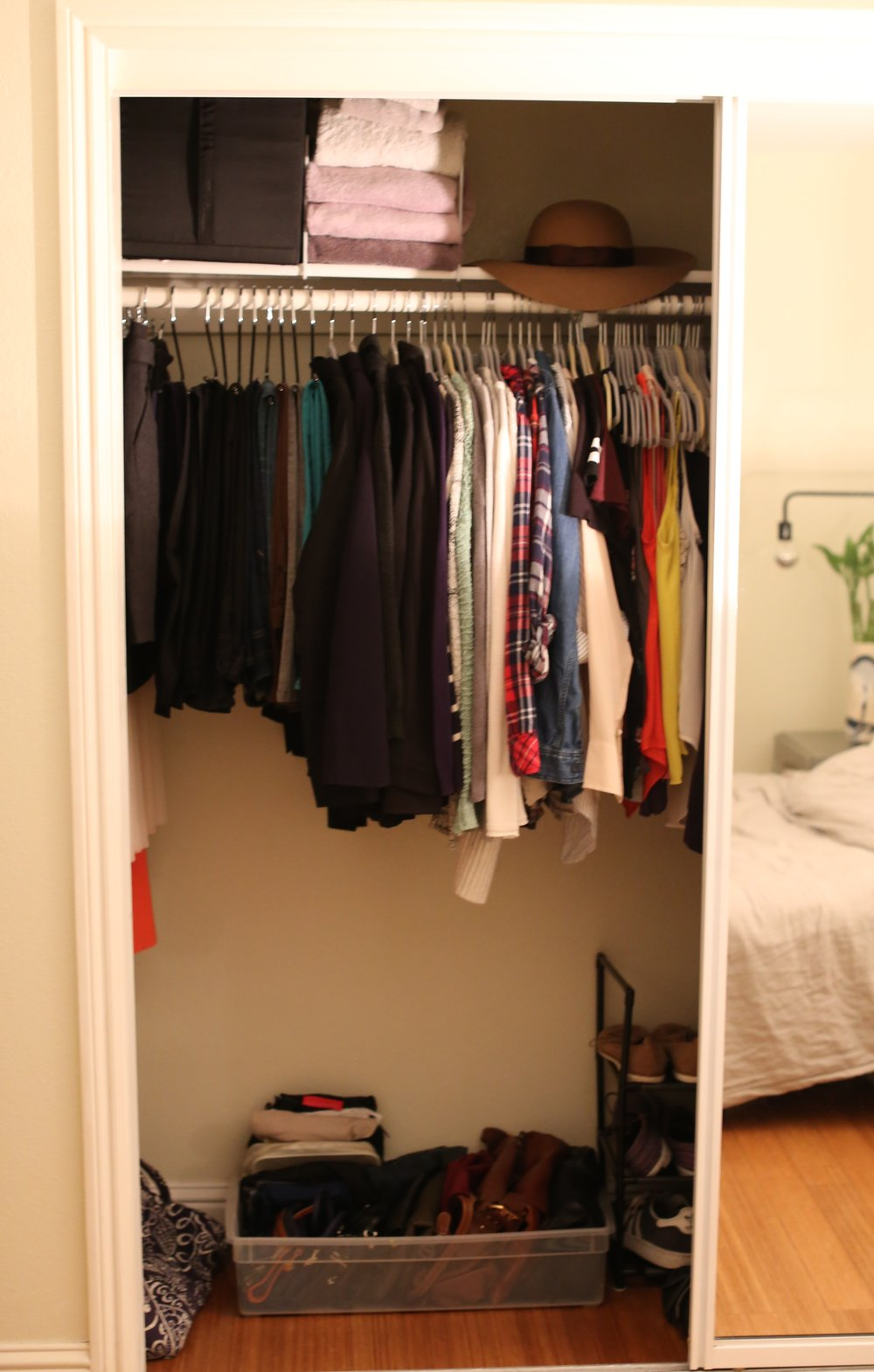 after: a happier closet  #postkonmariclothing