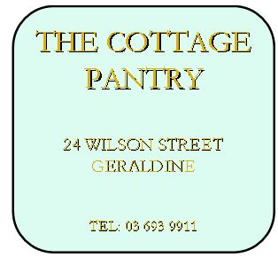 The Cottage Pantry, Geraldine -