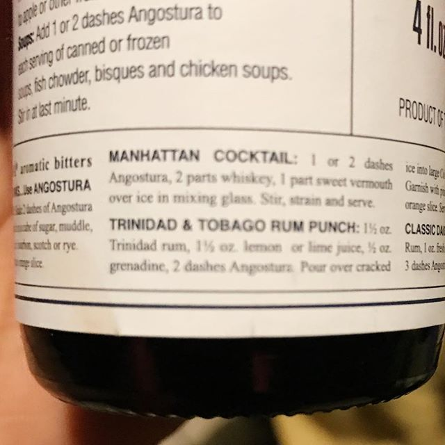 . The key to a perfect #manhattancocktail is great #whiskey and  #angosturabitters . . #whiskeylife #dapperedden  #eventexperiences  #theoriginalmobilemancave  #