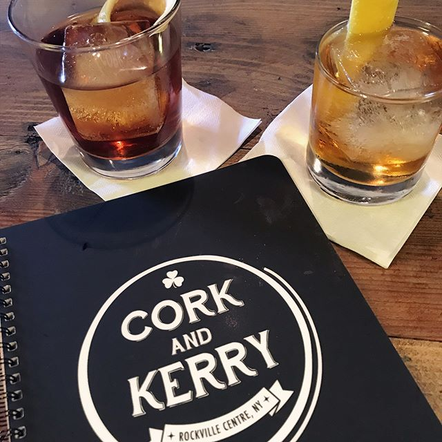 . Finally, a legit {proper} spot for libations on Long Island.  @corkandkerryrvc 🙌🏽 _____ #whiskeylife #dapperedden  #eventexperiences  #theoriginalmobilemancave