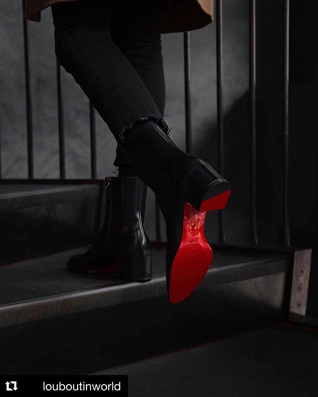 Because it's Monday.  #Repost @louboutinworld ・・・ Step up your game. #LouboutinHomme 📷 @philvalles