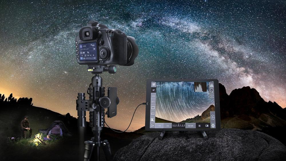 Picatinny Miniature Tripod adapts all camera accessories